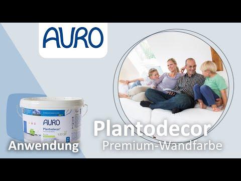 AURO Produktfilm Plantodecor® Premium-Wandfarbe