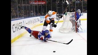 Philadelphia Flyers vs New York Rangers - January 16, 2018 | Game Highlights | NHL 2017/18