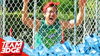 Ice Dunk Tank Challenge!! Ft. Markiplier! by : Team Edge