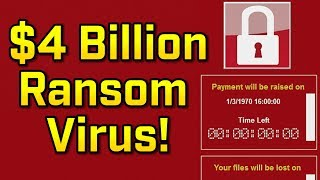 THE $4 BILLION RANSOM VIRUS!?! - Virus Investigations