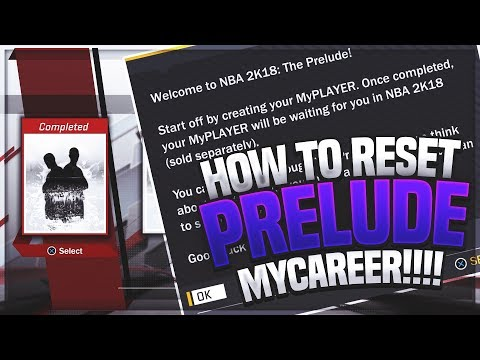 *MUST WATCH* HOW TO RESET YOUR MyCAREER ON THE PRELUDE & MAKE NEW BUILDS OF DUAL ARCHETYPES!