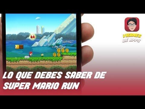 Descarga Super Mario Run y navega sin conexión en internet