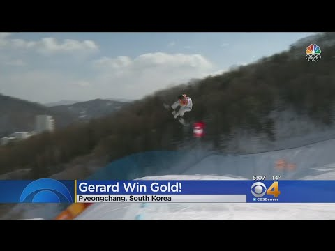 Colorado's Red Gerard Takes Olympic Gold