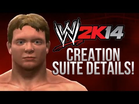 WWE 2K14 Creation Suite ft Create A Title 100 Caw