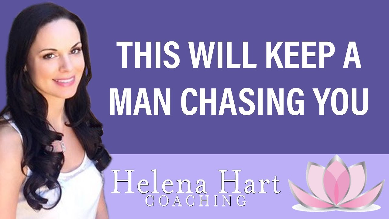 How to stop chasing a man