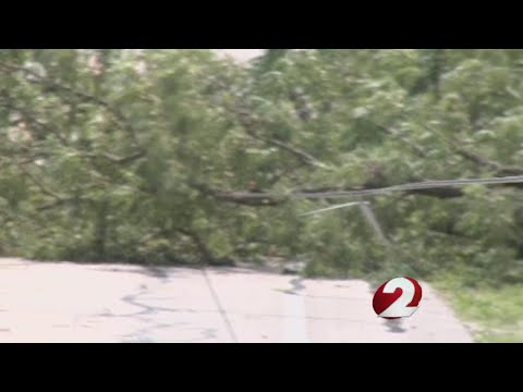 Storm clean up in Preble County