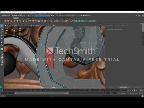 Victorian Chair Ornamentation Modeling tutorial