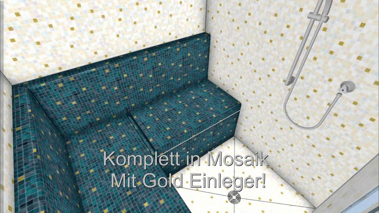 dampfbad selber bauen cool dampfbad dampfdusche dampfdusche mit kleinem platzbedarf with. Black Bedroom Furniture Sets. Home Design Ideas