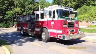 Somers FD Engine 180 + Engine 183 + Car 2441 + Car 2443 + Engine 185 + Engine 181 Responding
