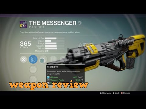 destiny-house-of-wolves--the-messenger-weapon-review!