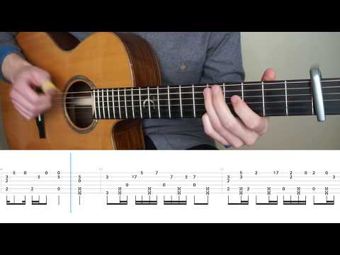Marshmello - Silence ft. Khalid - Fingerstyle Guitar Tutorial (lesson) by Mattias Krantz