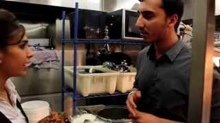 Never Seen Before: Indian restaurant kitchen's madness!