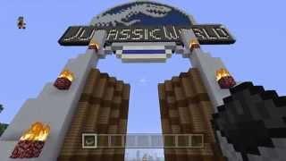 Minecraft Jurassic World Tour