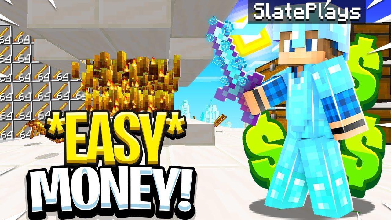 MAKING UNLIMITED MONEY ON OP SKYBLOCK! | Minecraft Skyblock | FadeCloud