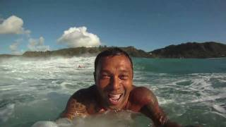 GoPro HD Sunny Garcia surfing Sunset Beach Hawaii