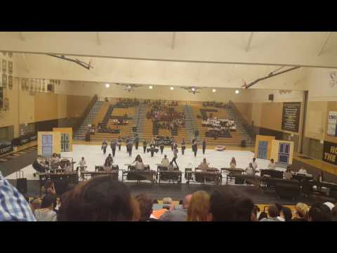 Beyer winter percussion performance April 1, 2017