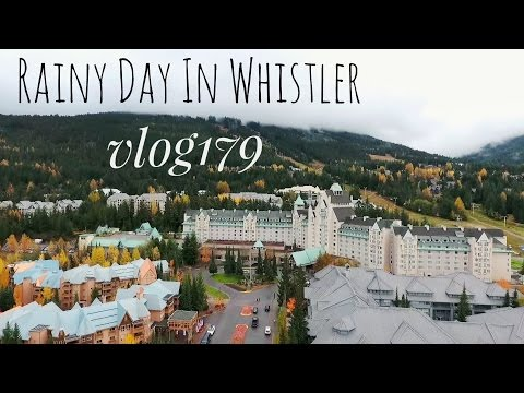 Rainy Day in Whistler, BC