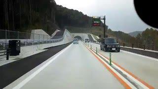 南九州西回り自動車道  津奈木インター から 田浦インター 上り車線   スマフォ撮影