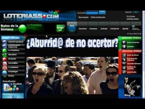 ¿como Realizar Mi Apuesta De Primitiva Online? @euroloteria From Screenr.com