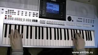 �������� ���� Him - Join me in death игра на синтезаторе ������