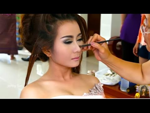 Cambodian Traditional Wedding, Bride Make Up, Cambodian Traditional Wedding Dresses