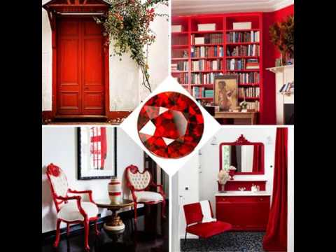 Red Decorative Home Decorating Ideas