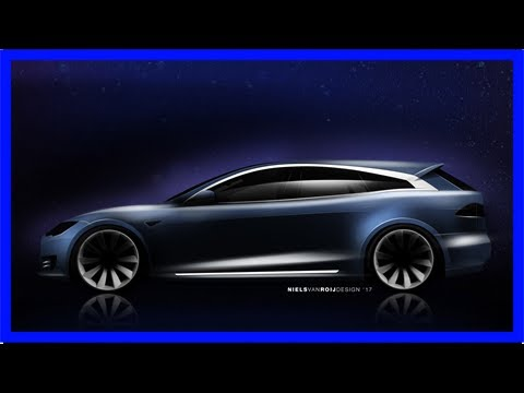 Tesla model s shooting brake estate offered by dutch coachbuilder