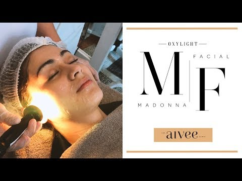 Madonna OxyLight Facial - A Total Workout For The Face