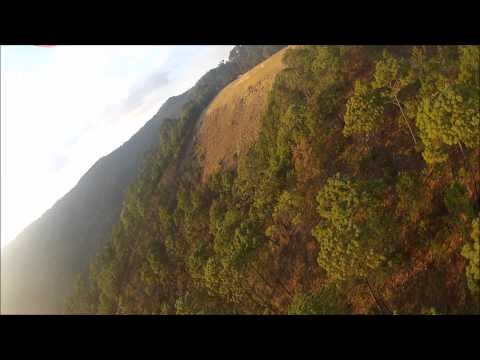 Paragliding Mexico, El Penon,Valle De Bravo, Top Landing  Skywalk Cayenne,