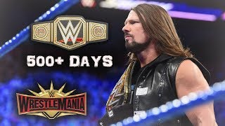 REAL REASON WHY AJ STYLES' WWE TITLE REIGN IS NOT ENDING ANYTIME SOON (WWE SD LIVE)