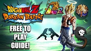 The Ultimate Pair of The Otherworld LR Gogeta Event Free To Play Guide! - Dokkan Battle Tutorials,