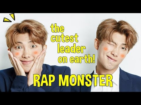RM, the cutest leader on earth! #HappyNamjoonDay (Rap Monster)
