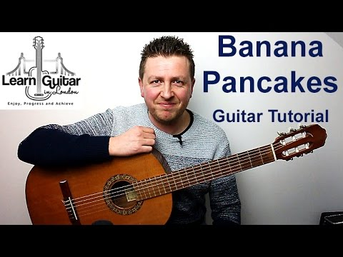 Jack Johnson - Banana Pancakes - Guitar Tutorial - Drue James