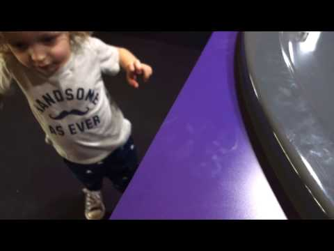 Family Bathroom, Thyssenkrupp Elevator And Coin Spinner At The IMAX In Fort Worth