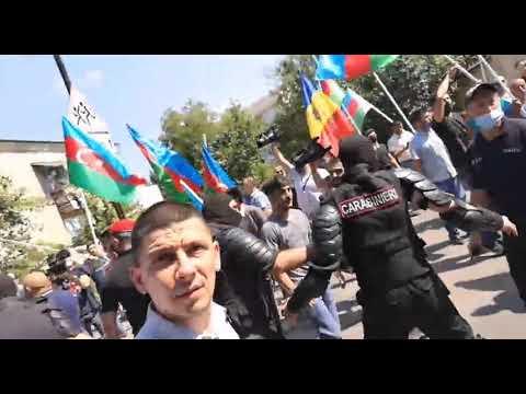 Стычка в Кишиневе армянской и азербайджанской диаспоры