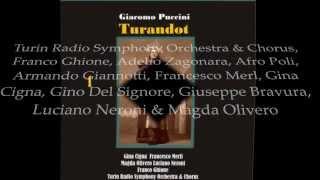 Turandot : Act 1: Gira la cote,gira,gira!