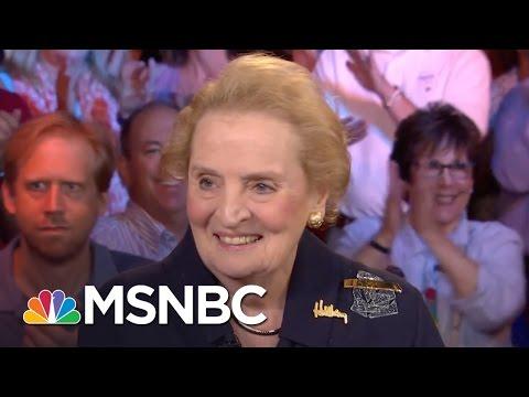 Madeleine Albright: Donald Trump Is Just 'Weird' | Morning Joe | MSNBC