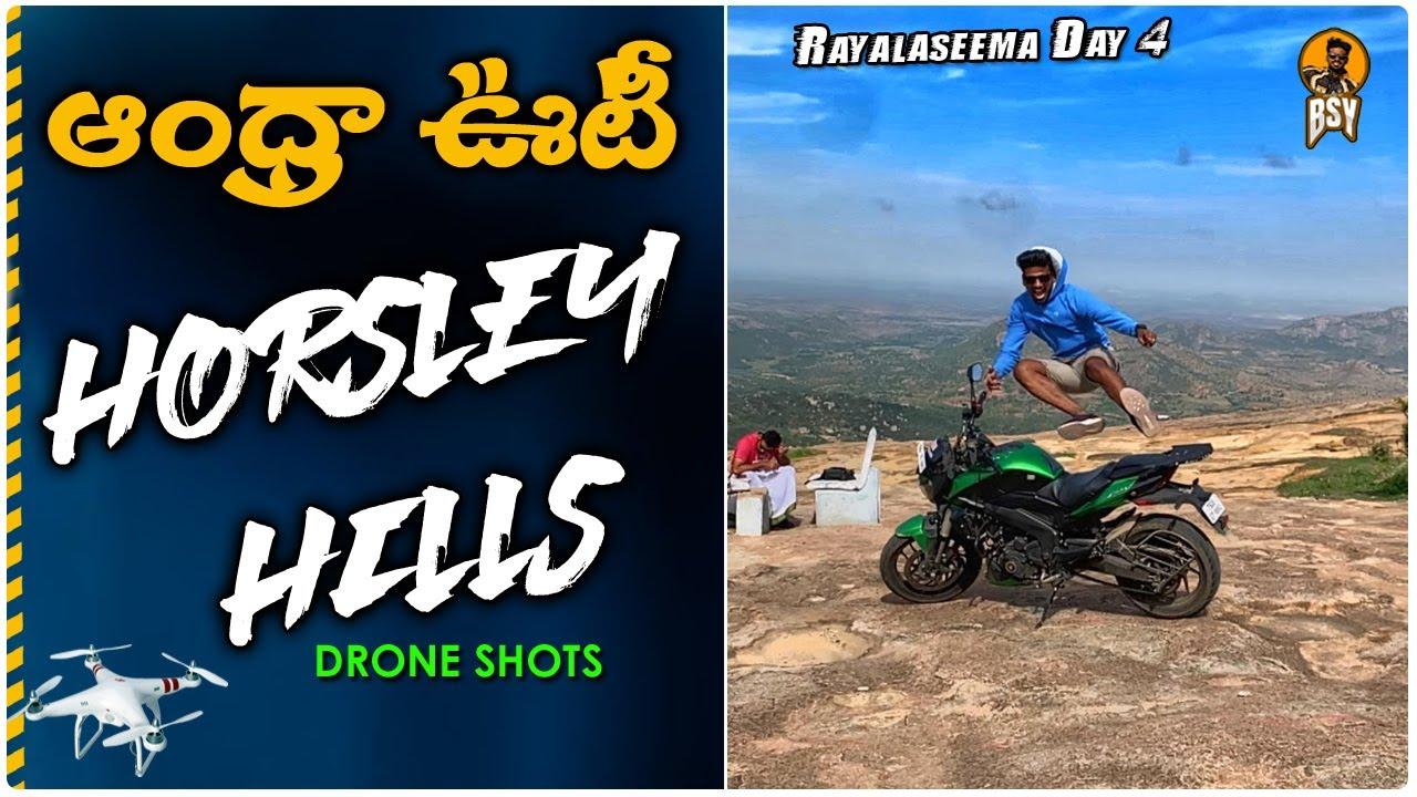 Rayalaseema Ride Day 4 | Horsley Hills To Home | డ్రోన్ షాట్స్| Telugu Motovlogs | Bayya Sunny Yadav
