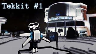 Minecraft Tekkit - Bölüm 1 - Abi Mars'tan Geçer Mi?