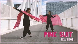 PINK SUIT | PREET HARPAL | BHANGRA BY JASPINDERJK AND JESSISID