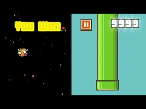 HOW TO BEAT FLAPPY BIRD! HIGHEST SCORE POSSIBLE AND THE ENDING!