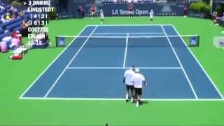 Damm & Lindstedt vs Coetzee & Erlich - Los Angeles 2009 (6 de 8)