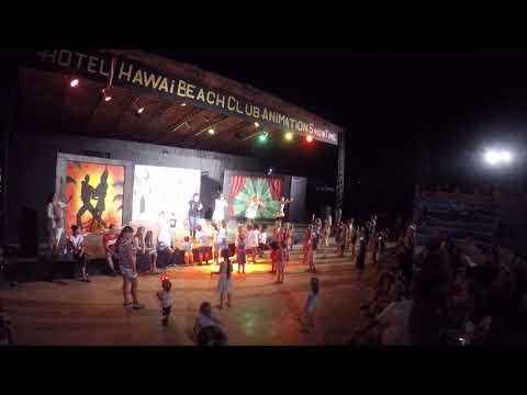 Детская дискотека, Гавайи бич отель, Хаммамет,Тунис