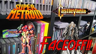 Super Metroid vs Castlevania Symphony of the Night | Video Game Faceoff!!