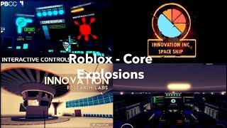 Roblox - Core explosions
