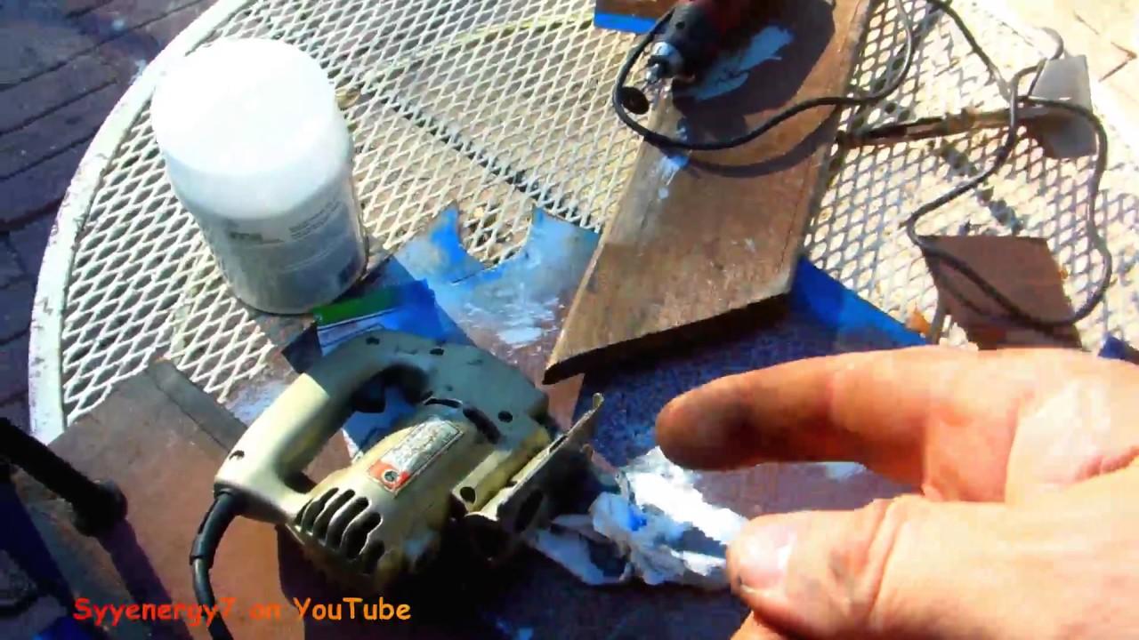 Easy way to cut sheet metal with a jig saw youtube easy way to cut sheet metal with a jig saw keyboard keysfo Choice Image