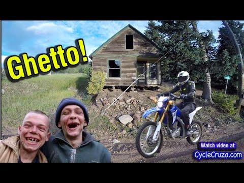 VAN ROAD TRIP Colorado PT 6 - MotoVlog in Mountain Ghetto - Scenic RV Park  | Bug Out Van