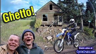 MotoVlog in Mountain Ghetto - Scenic RV Park - Van Living | Moto Van Life