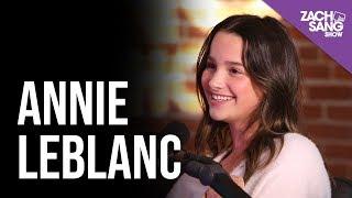 Download lagu Annie Leblanc Talks Utopia New Music Asher Angel Youtube