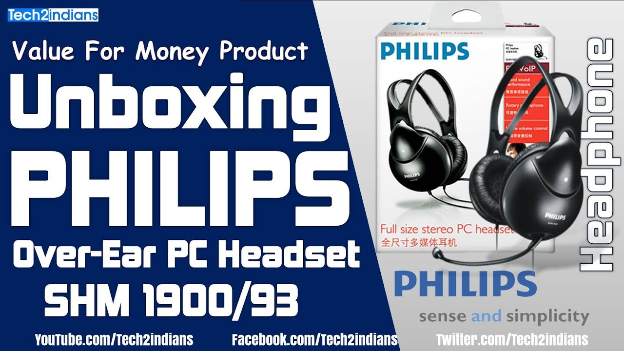 Philips SHM1900 93 Wired Headphones  397d46da72